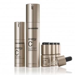 Energy C - серия косметики от Mesoestetic поддерживающая молодость и блеск Вашей кожи.