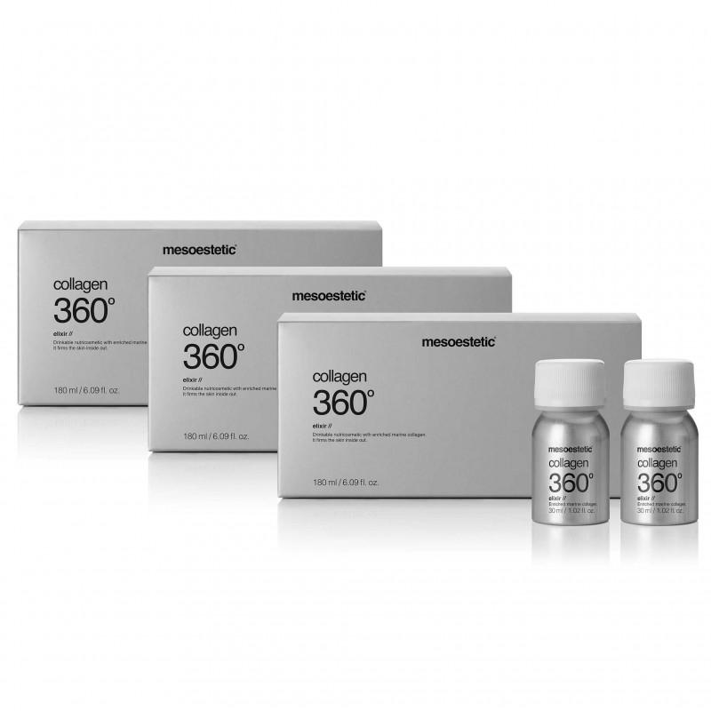 3 х collagen 360° elixir полный курс питьевых эликсиров