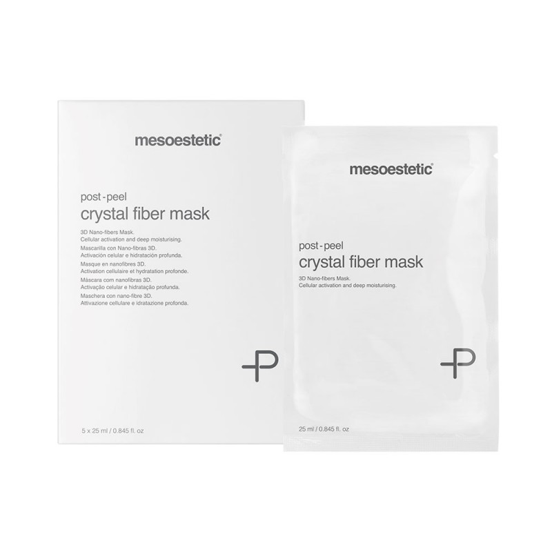post peel crystal fiber mask / пост-пилинговая маска