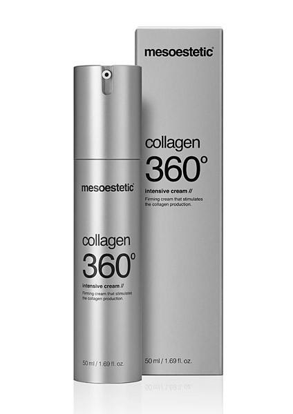 mesoestetic сollagen 360° intensive cream  интенсивный крем для лица