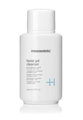 facial gel cleanser очищающий гель для нормальной и комбинированной кожи