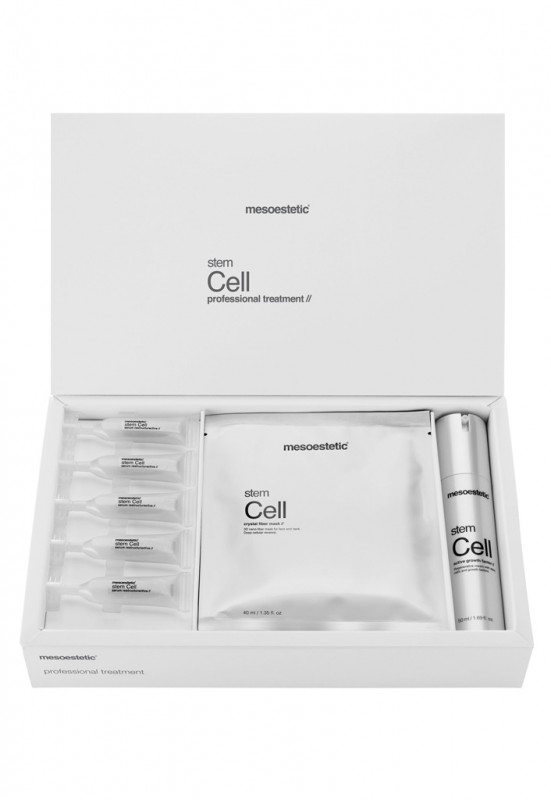 mesoestetic stem cell professional treatment