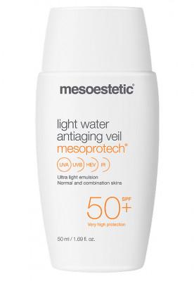 mesoprotech® light water antiaging veil ультралегкая антивозрастная эмульсия с высоким фактором защиты