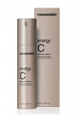 mesoestetic energy С intensive cream осветляющий крем для лица