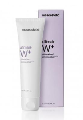 ultimate W⁺ whitening foam очищающая пенка